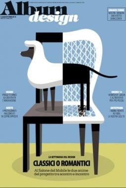 La copertina dell'Album Design in edicola il 17 aprile, da cui è tratto questo testo