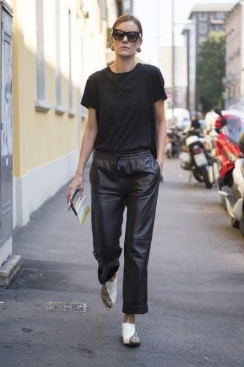 lowest price 2c783 848d1 Come scegliere e indossare i pantaloni di pelle - Moda - D ...