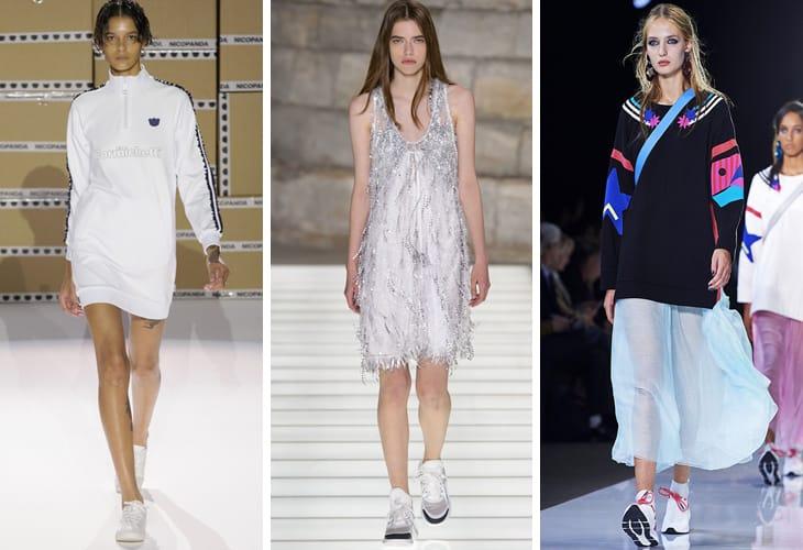 P/E 2018: da sinistra Nicopanda, Louis Vuitton, Emporio Armani
