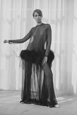 19 agosto 1968: il nude look di Yves Saint Laurent