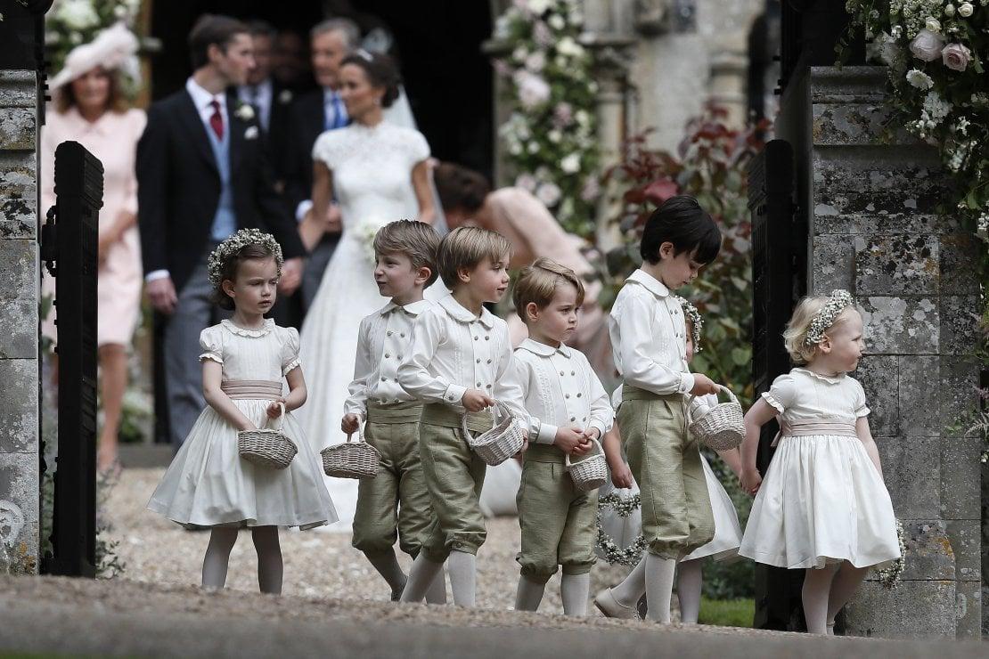 Il principino George e altri 'colleghi' al matrimonio di Pippa Middleton