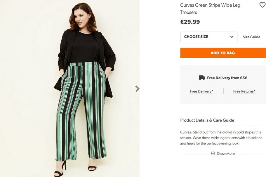 Se sei curvy paghi di più: polemica sullo shop online New Look