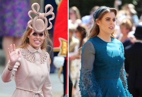 migliore vendita outlet in vendita meticolosi processi di tintura Royal Wedding: Eugenie e Beatrice scelgono la sobrietà dopo ...