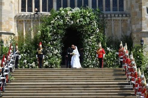 Matrimonio Harry In Chiesa : Royal wedding: il fotoracconto della giornata di harry e meghan