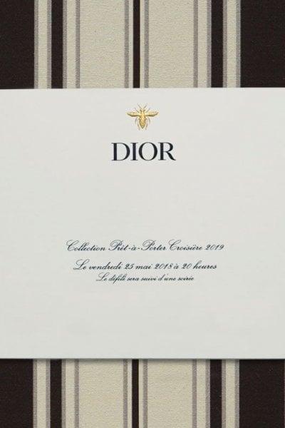 Cruise 2019: Dior LIVE!