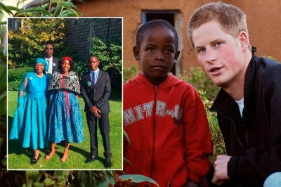 Tra gli invitati del royal wedding spunta Mutsu Potsane, un orfano africano amico di Harry da 14 anni