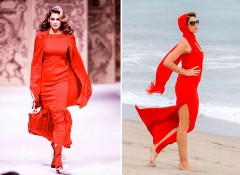 Cindy Crawford non perde il vizio: splendida top model sulla spiaggia di Malibu