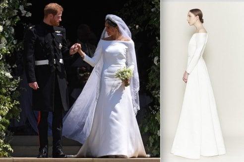 ''L'abito da sposa di Meghan Markle copia un mio modello del 2017.'' L'accusa di plagio della stilista amata da Kate Middleton