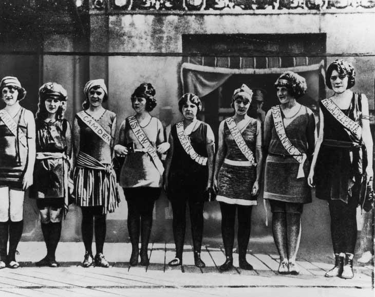 La prima edizione di Miss America nel 1921 ad Atlantic City