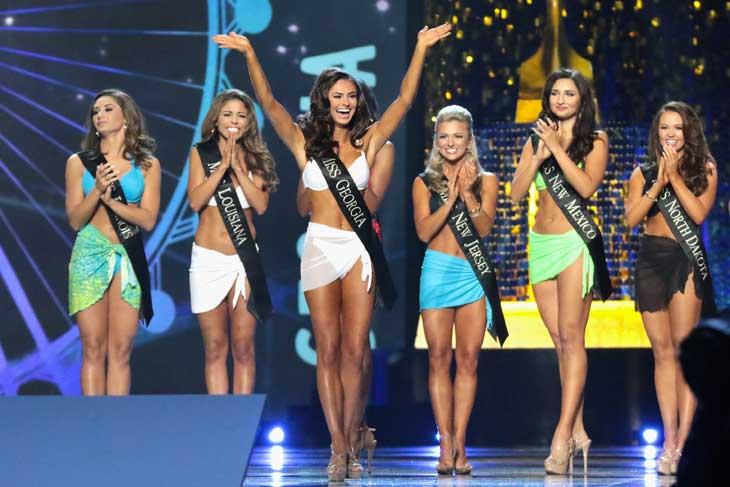 L'esibizione in costume da bagno nell'edizione di Miss America 2018