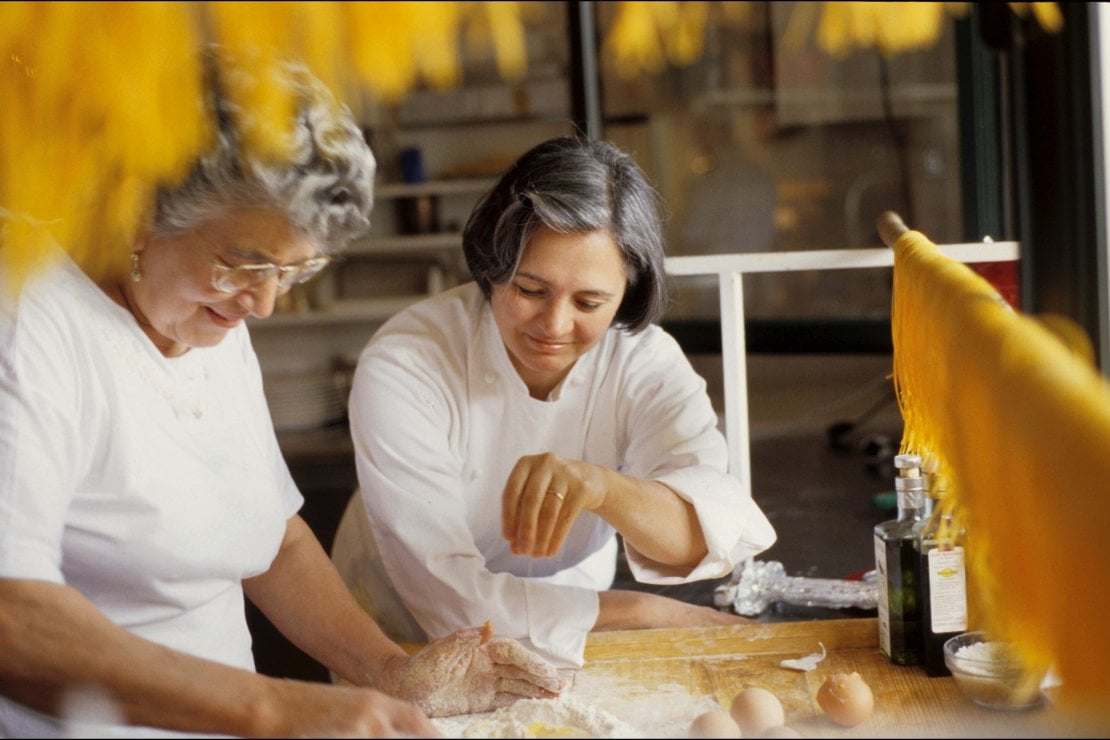 Chef Nadia Santini e sua mamma