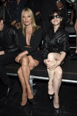 Kate Moss e Charlotte Gainsbourg