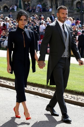 David e Victoria Beckham: lotteria benefica per gli abiti indossati al Royal Wedding