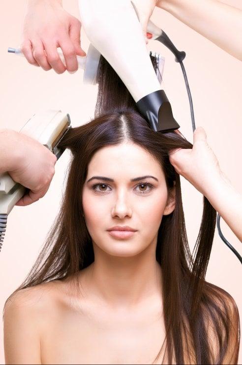 Taglio di capelli alla francese
