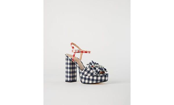 Sandalo vichy, Zara