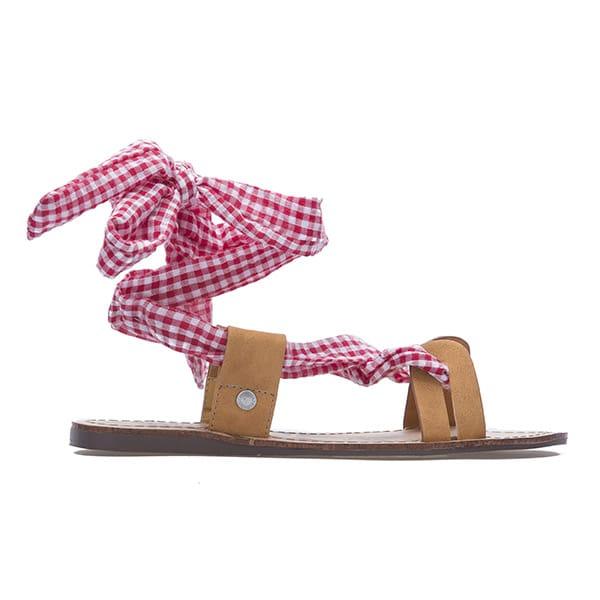 Sandali di cuoio con lacci, Pepe Jeans