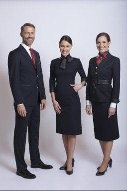 Alberta Ferretti presenta le nuove divise Alitalia