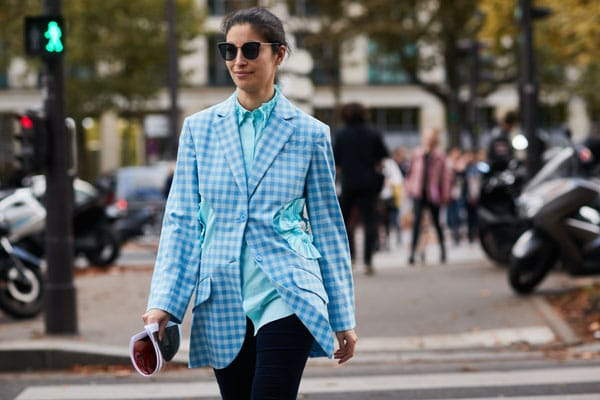 Street style durante le sfilate ss 18 a Parigi