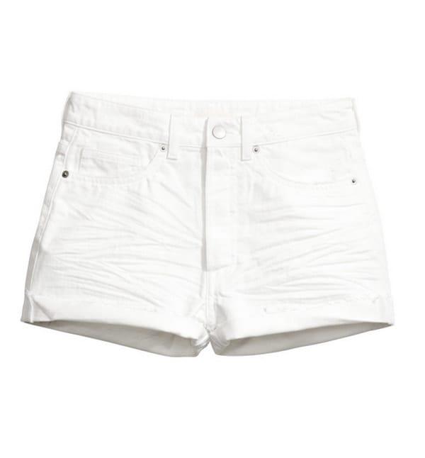 Short bianco, H&M;