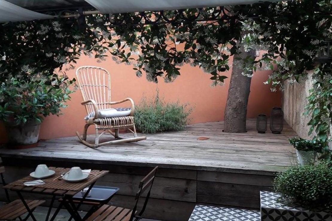 Il giardino del B&B; Tiaré home a Milano