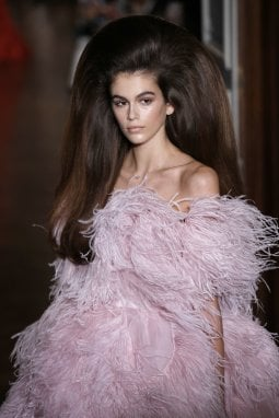 Kaia Gerber in Valentino Haute Couture