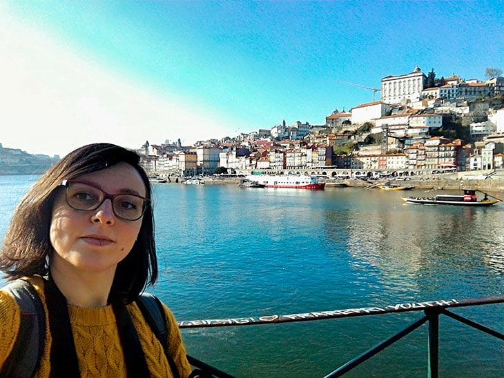 Alice nel suo ultimo viaggio da sola a Porto