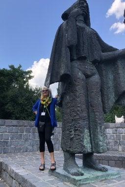 Luisa nel suo ultimo viaggio a Budapest