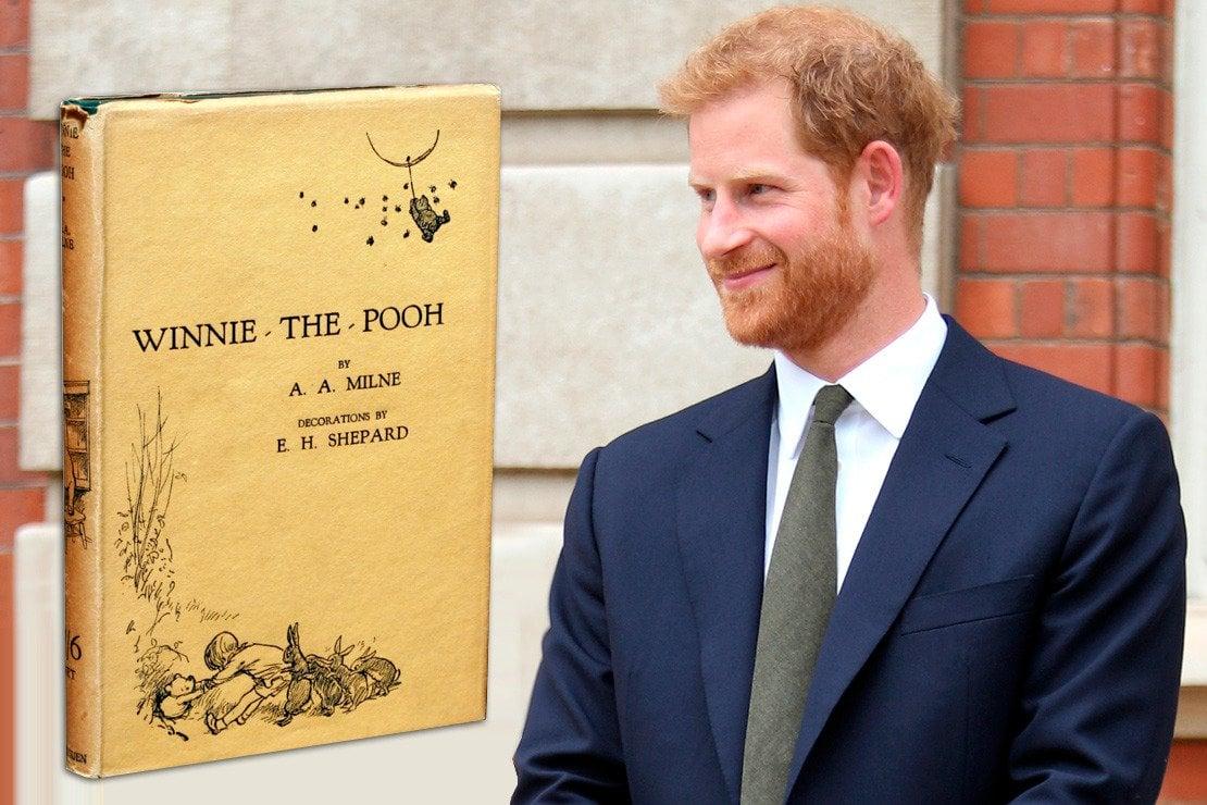 Per il battesimo, zio Harry regala a Louis il libro che Diana gli leggeva prima di dormire