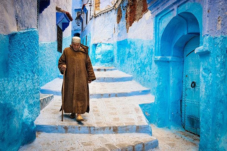 La città azzurra di Chefchaouen