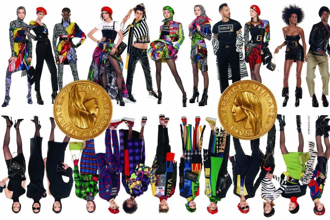 La nuova campagna pubblicitaria di Versace per l'Autunno Inverno 2018/19