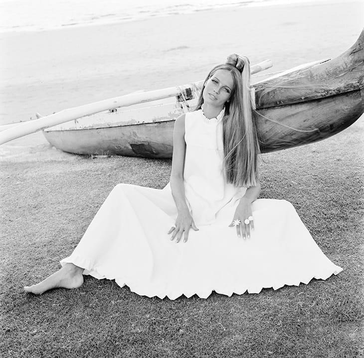 L'ex top model degli anni '60 e '70 Veruschka