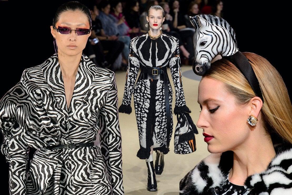 Fantasie zebrate, il nuovo bianco e nero