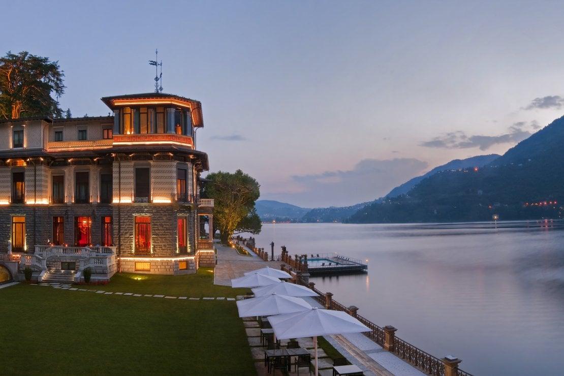 Un resort da mille e una notte sul Lago di Como