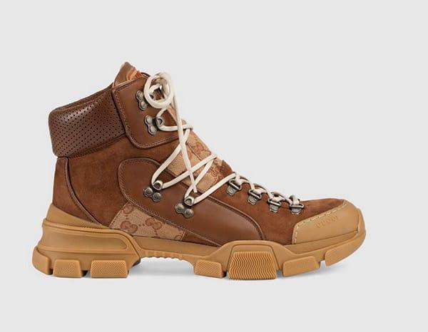 Sneakers a stivaletto, Gucci