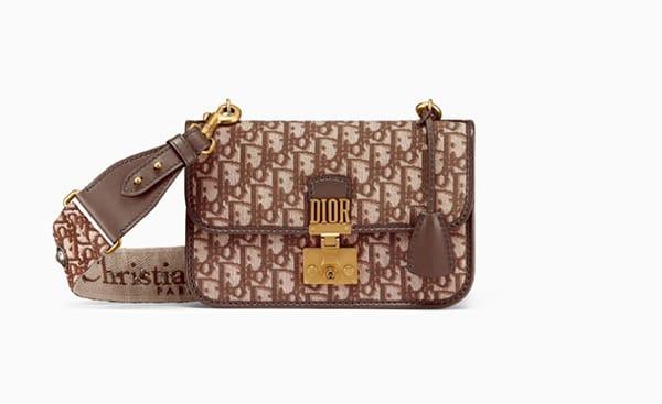 Borsa di tessuto logato, Dior