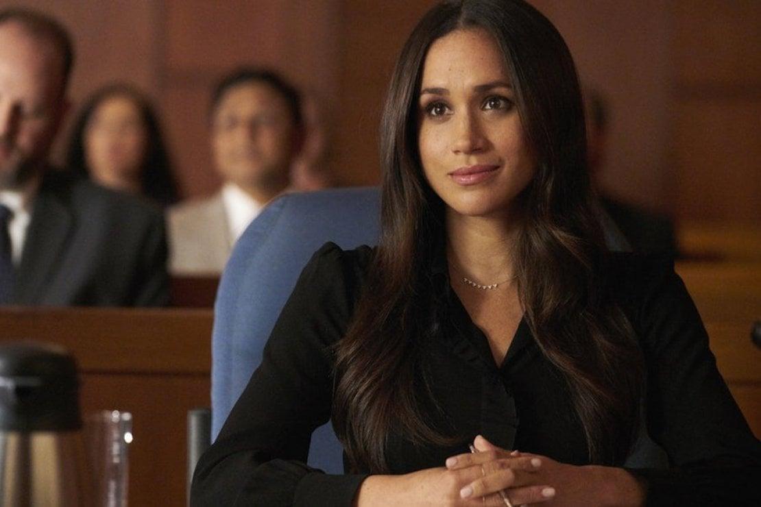 Meghan Markle nella serie Suits nella quale interpretava l'avvocatessa Rachel Zane