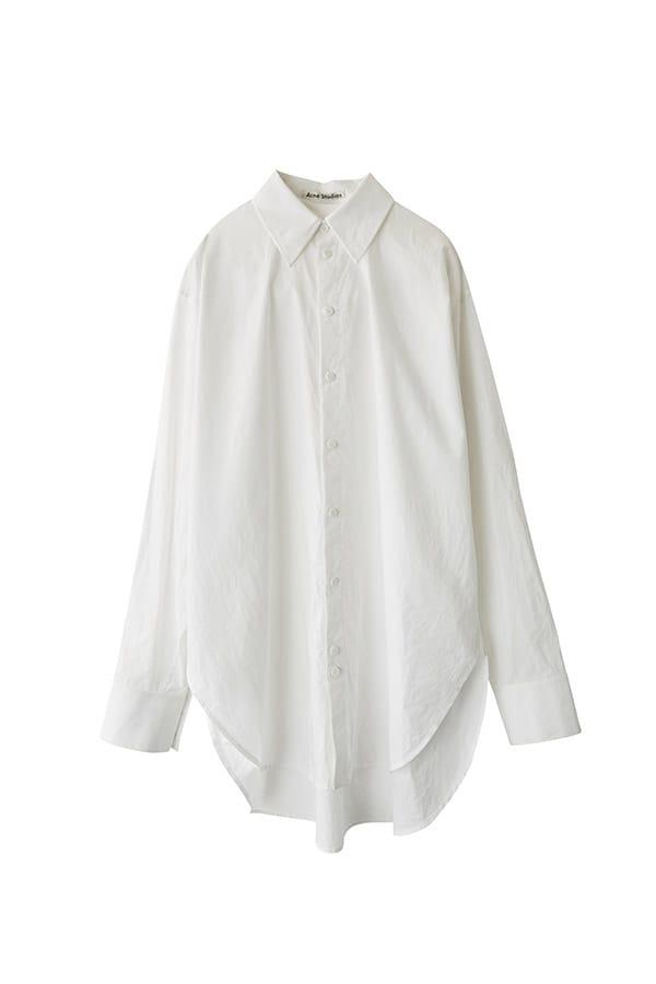 Camicia over di cotone, Acne studios