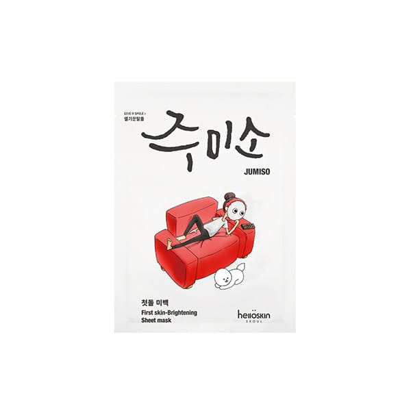 Maschera in tessuto per pelli spente, Jumiso da Miin cosmetics
