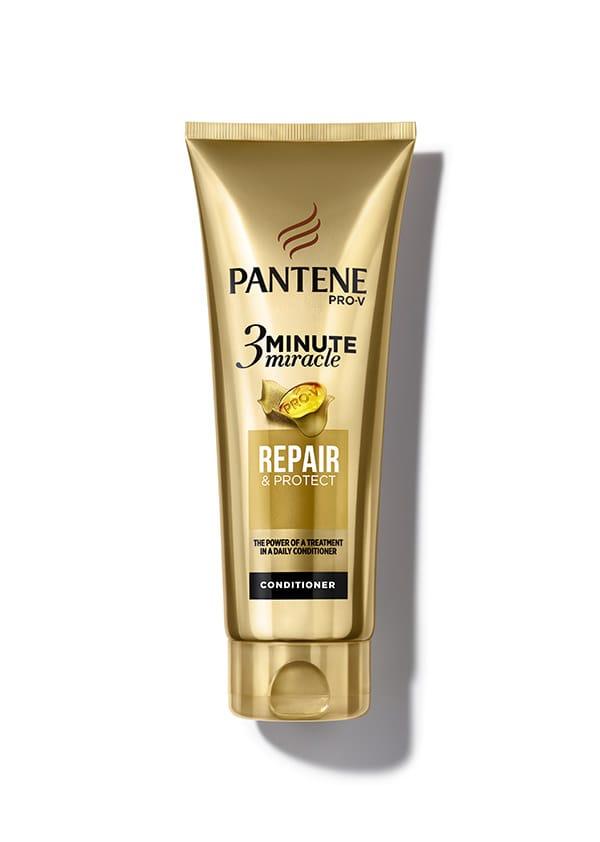 3 Minute Miracle 2 perfetto per regalare al capello una maggiore morbidezza e lucentezza e prevenire doppie punte e effetto crespo, Pantene