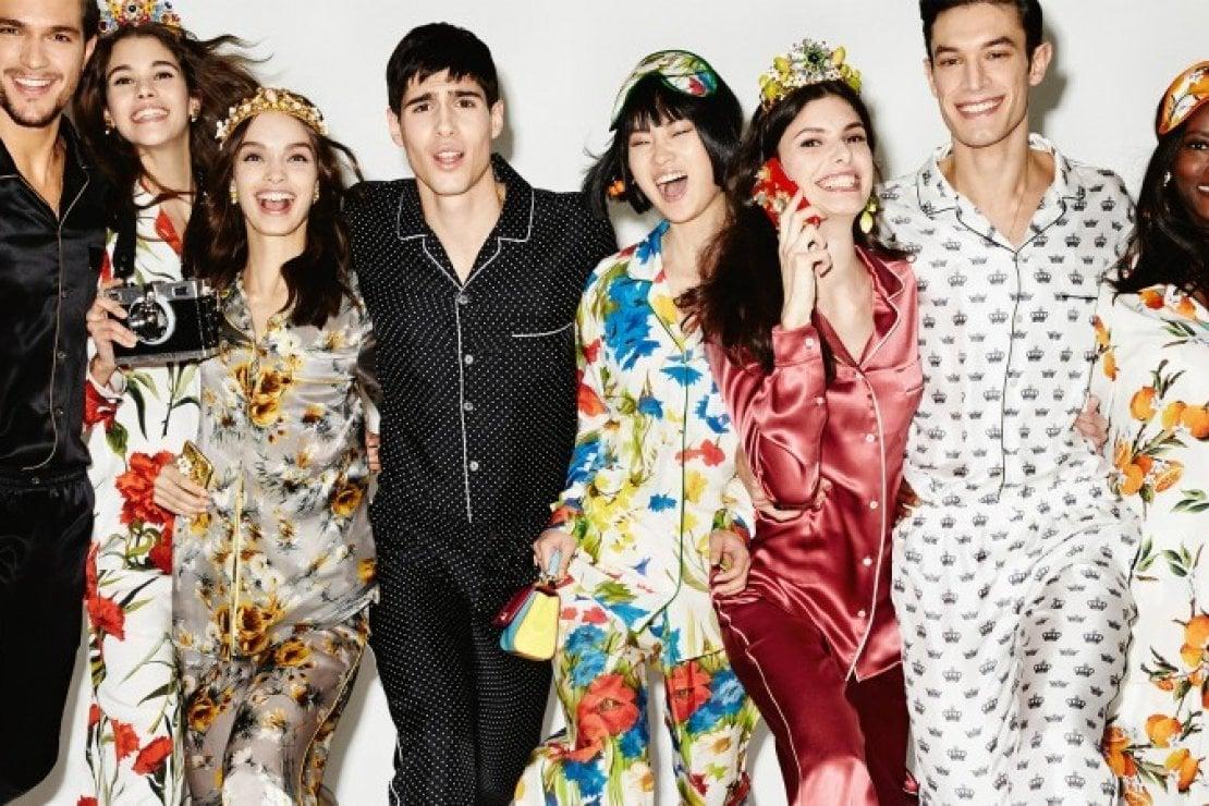 Foto di Dolce&Gabbana estate 2016 pigiama special collection