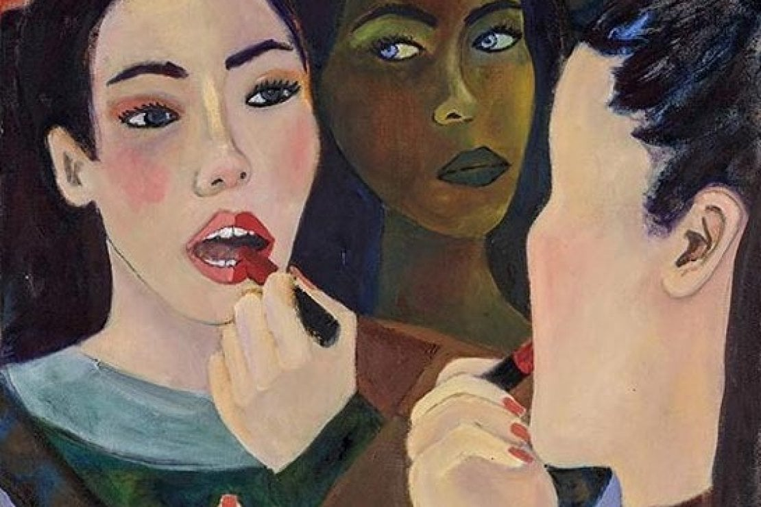 @guccibeauty Untitled (Eva), 2018 opera di Simone Kennedy Doig - Baert Gallery, Los Angeles