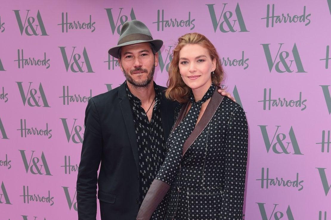 La top model Arizona Muse e il marito, l'osteopata Boniface Verney-Carron