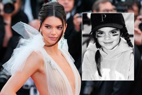 2bbf532f8f Kendall Jenner al Film Festival di Cannes 2018 vs una piccola Kendall (Foto  postata su Instagram dalla top model)