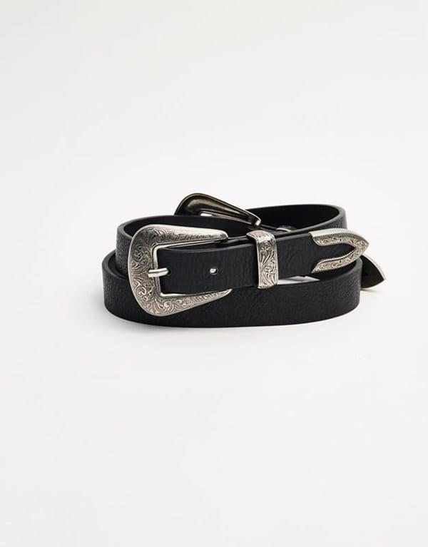 Cintura con fibbia, Pull&Bear;