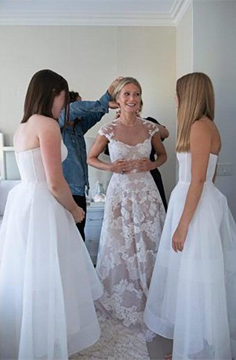 Abiti Da Sposa Secondo Matrimonio.L Abito Da Sposa I Preparativi La Festa Le Foto Privatissime