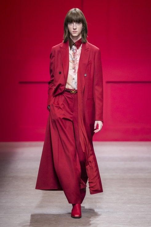size 40 68830 34ee3 20 cappotti rossi per un inverno elegante e glam - Moda - D ...