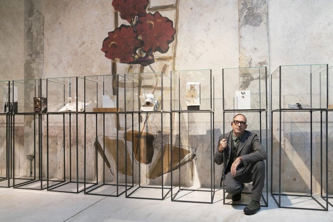 Antonio Marras progetto Zanichelli foto Daniela Zedda