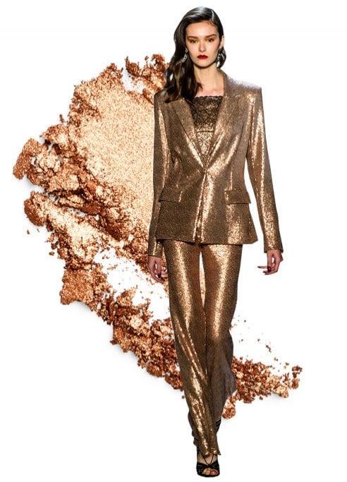 Glitter mania: il make up delle feste dall'oro al rosso, all'arcobaleno