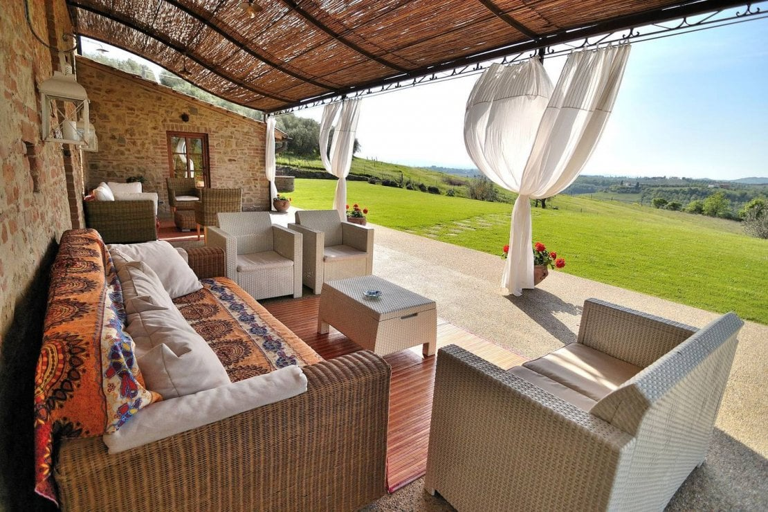 Panoramic entire Villa Florence & Siena with Pool a Certaldo, Airbnb