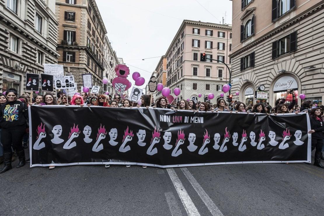 La manifestazione del 25 novembre 2017 a Roma
